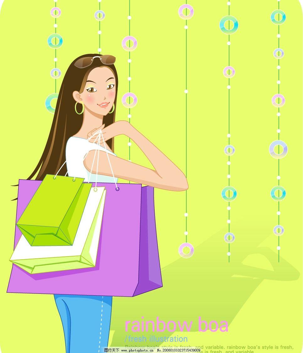 购物美眉图片_女性妇女_人物图库_图行天下图库