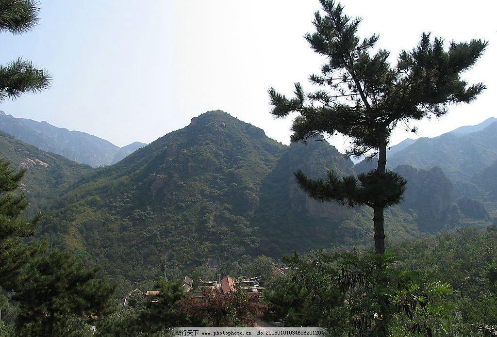五台山 风景 自然景观 风景名胜 风景摄影 摄影图库 180 jpg