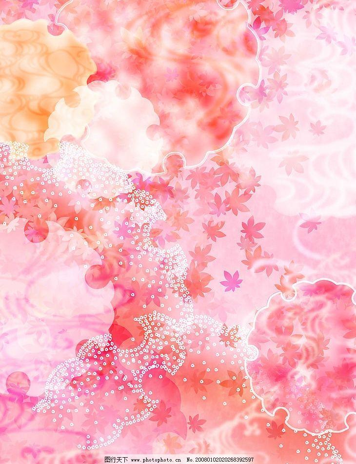 粉红花背景底纹 粉红 花 底纹边框 背景底纹 设计图库 350 jpg