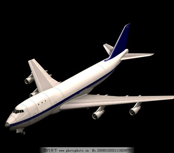 民用飞机 民用 飞机 模型