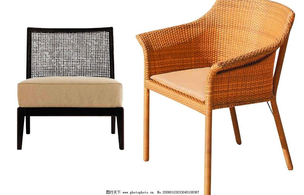 精典藤椅 沙发 椅子 欧式 古典 源文件库