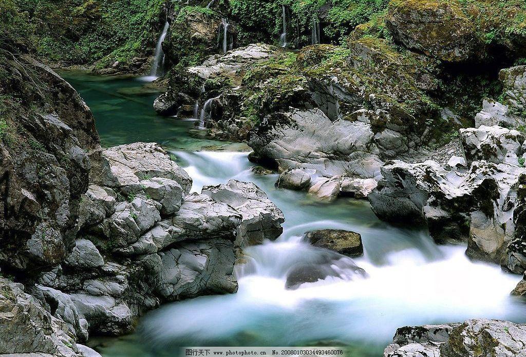 幽谷 静 绿 自然景观 山水风景 摄影图库 72 jpg
