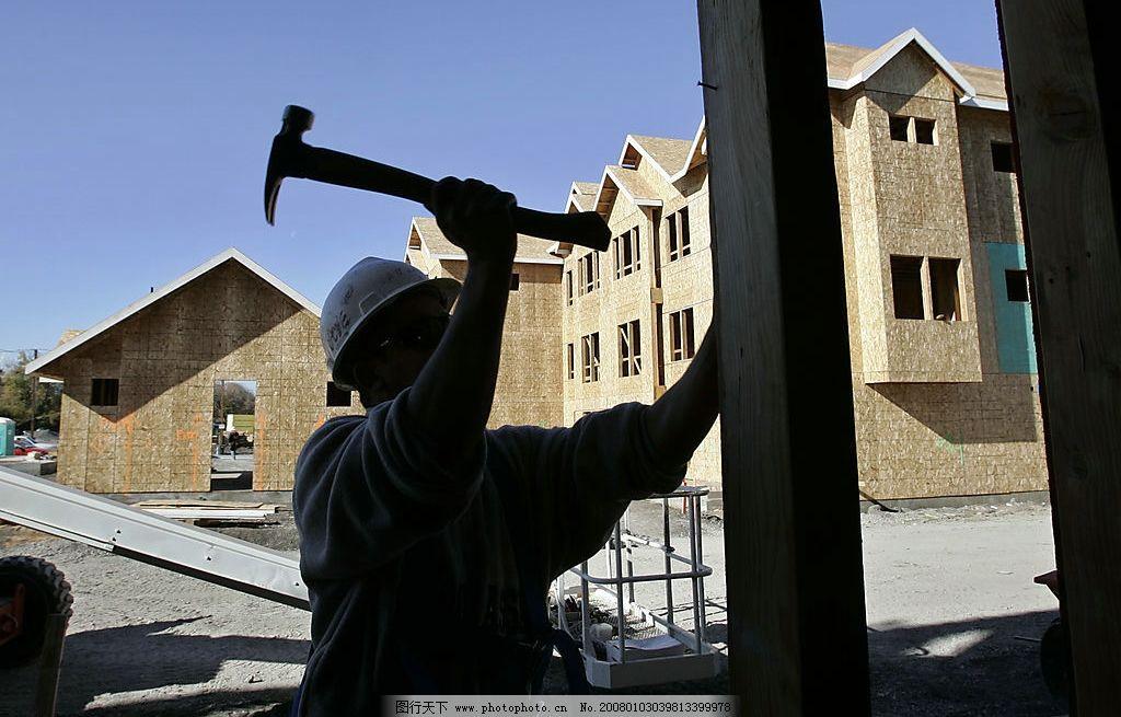 工人 劳动 工作 钉钉子 商务金融 商务素材 摄影图库 72 jpg