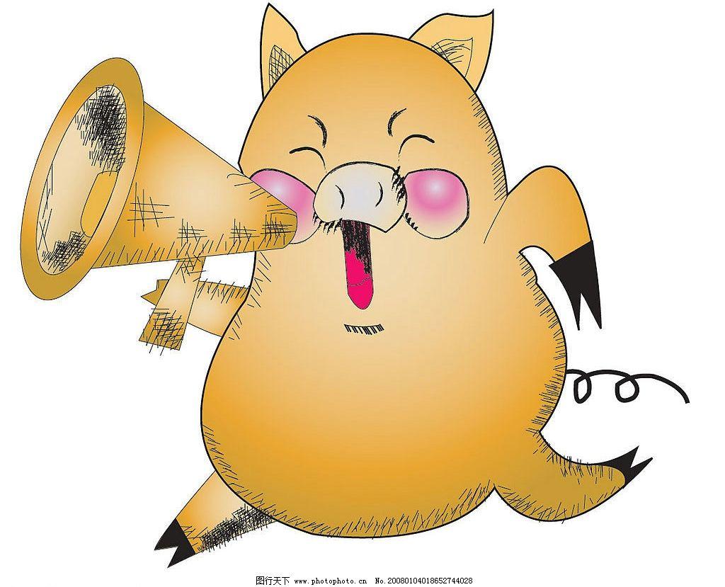 小猪 动漫动画 其他 宠物 设计图库 72 jpg