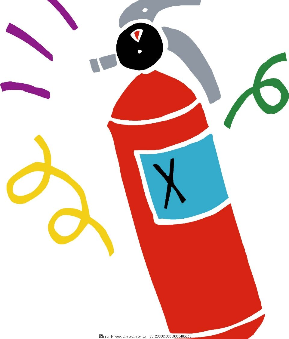 消防素材 标识标志图标 公共标识标志 矢量图库   ai