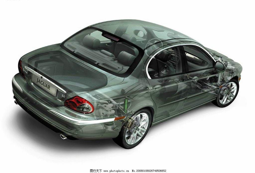 透视车子素材 透视 黑色 车子 素材 现代科技 交通工具 车子素材 设计