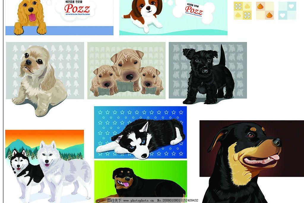 可爱动物卡通 可爱动物