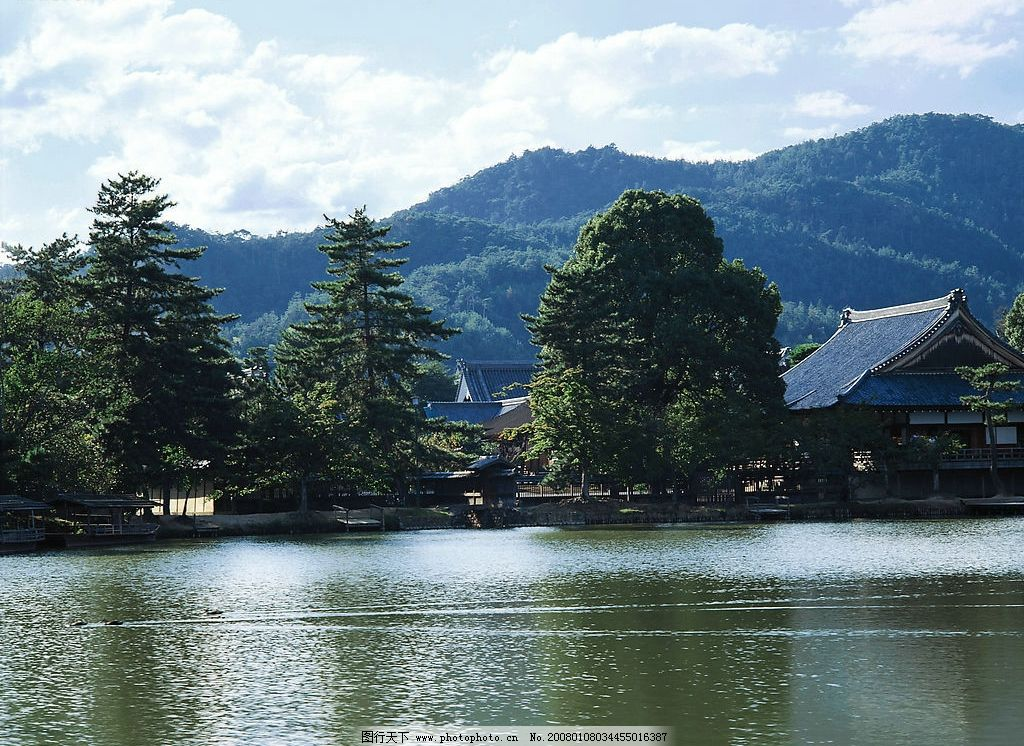 秀水 湖泊 自然 水 自然景观 山水风景 摄影图库 350dpi jpg