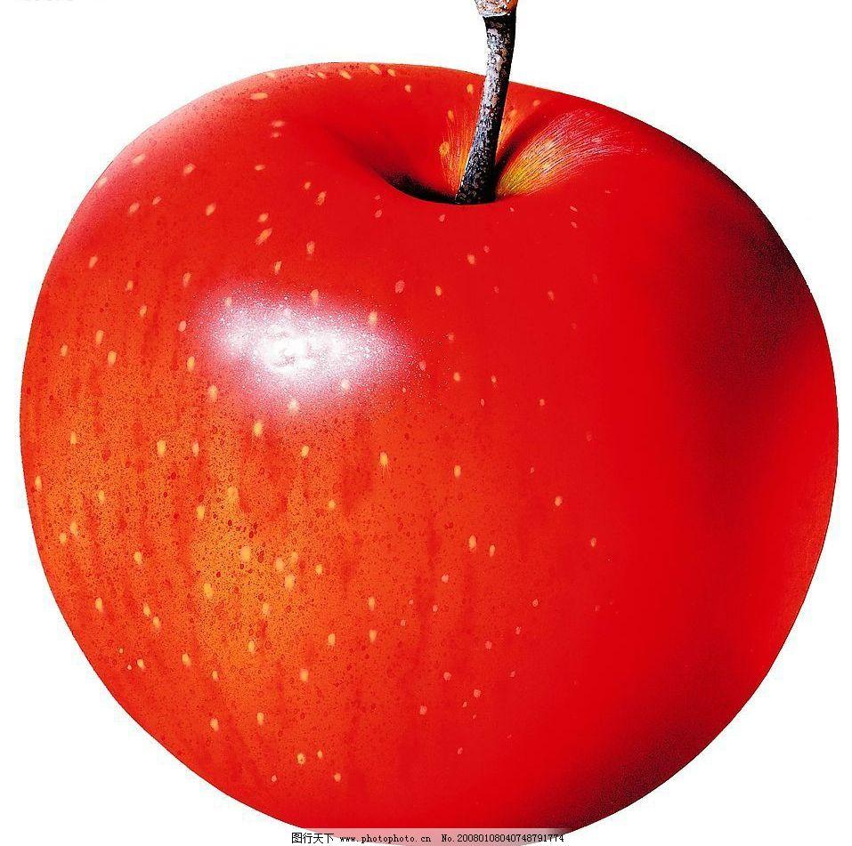 苹果素描的画法步骤要仔细点的