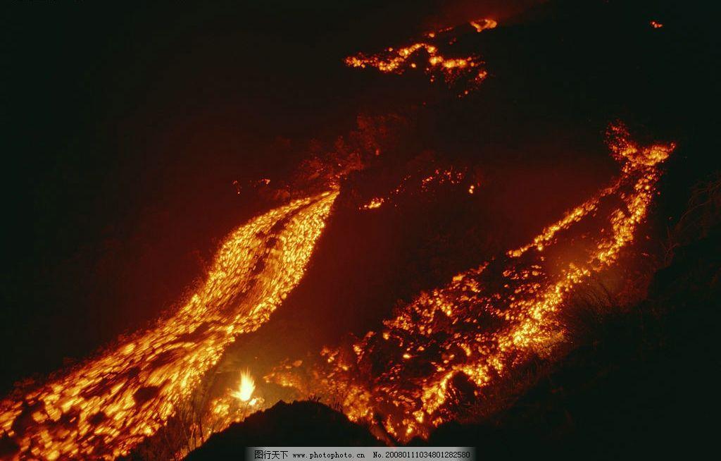 火山简笔画的步骤