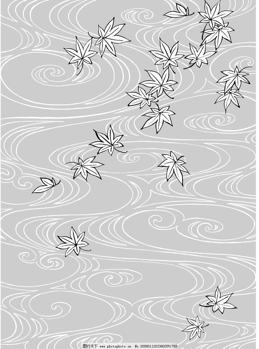线描植物图片