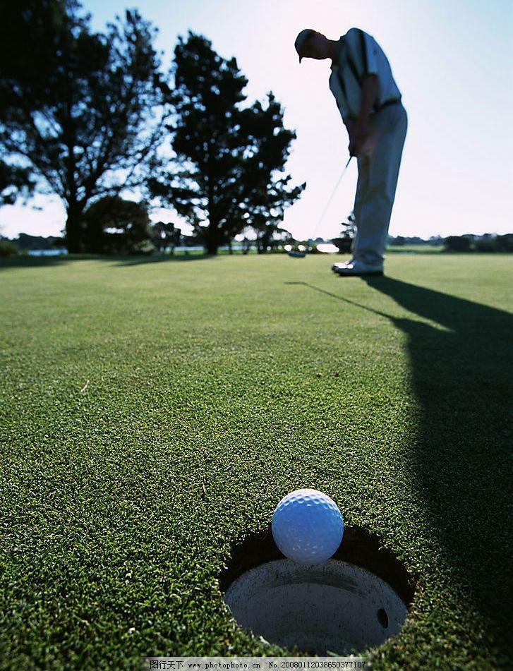 户外打高尔夫 高尔夫运动