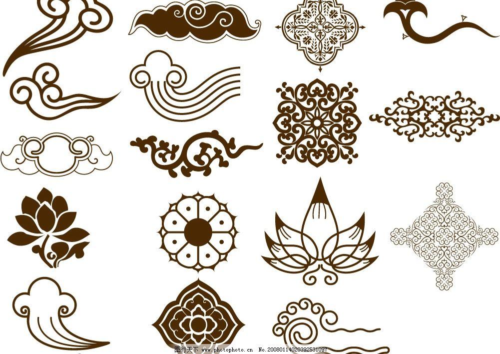 传统特色矢量图 传统 特色 矢量 底纹边框 花纹花边 花纹 矢量图库