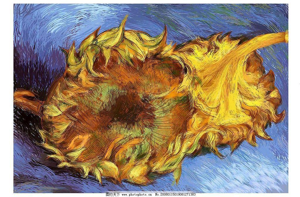 梵高-向日葵图片