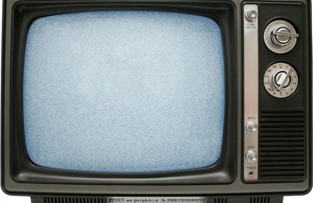 复古 话旧 电视机 欧式图片