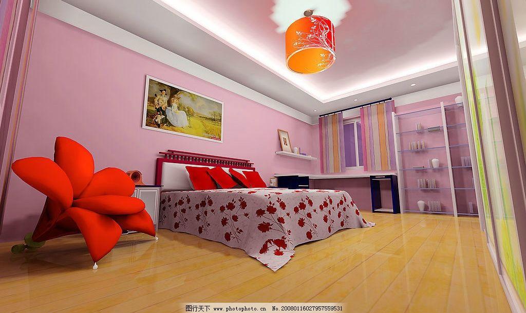 房间3 房间1 环境设计 室内设计 室内装修效果图 设计作品 150 jpg