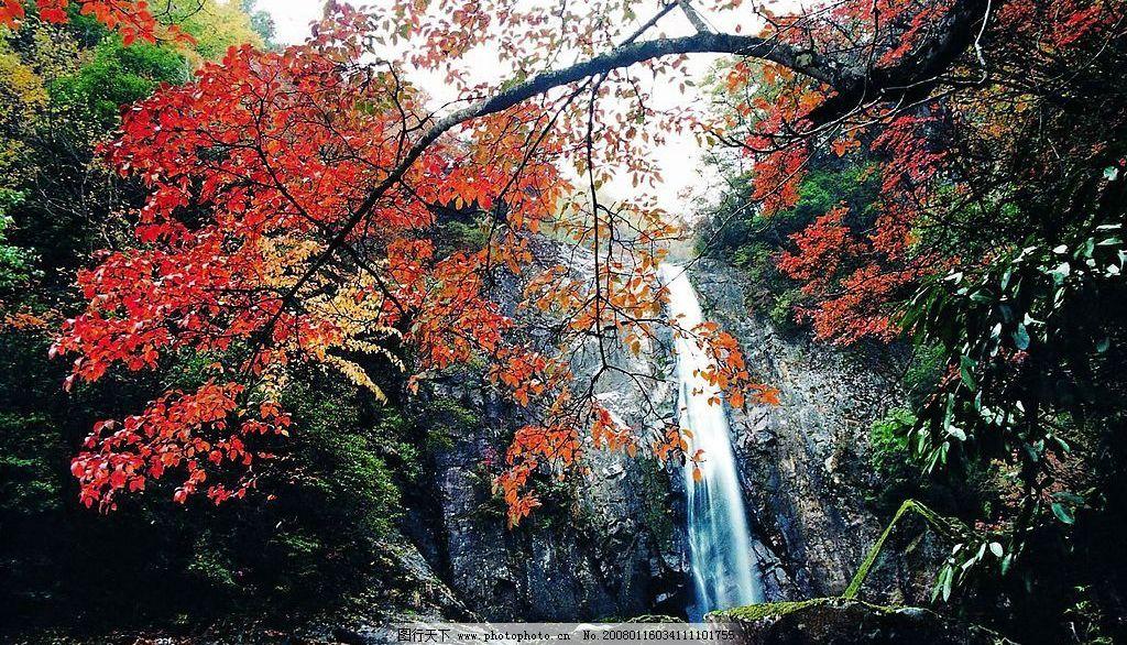 巴中光雾山-高山流水 旅游摄影 自然风景 摄影图库 350 jpg