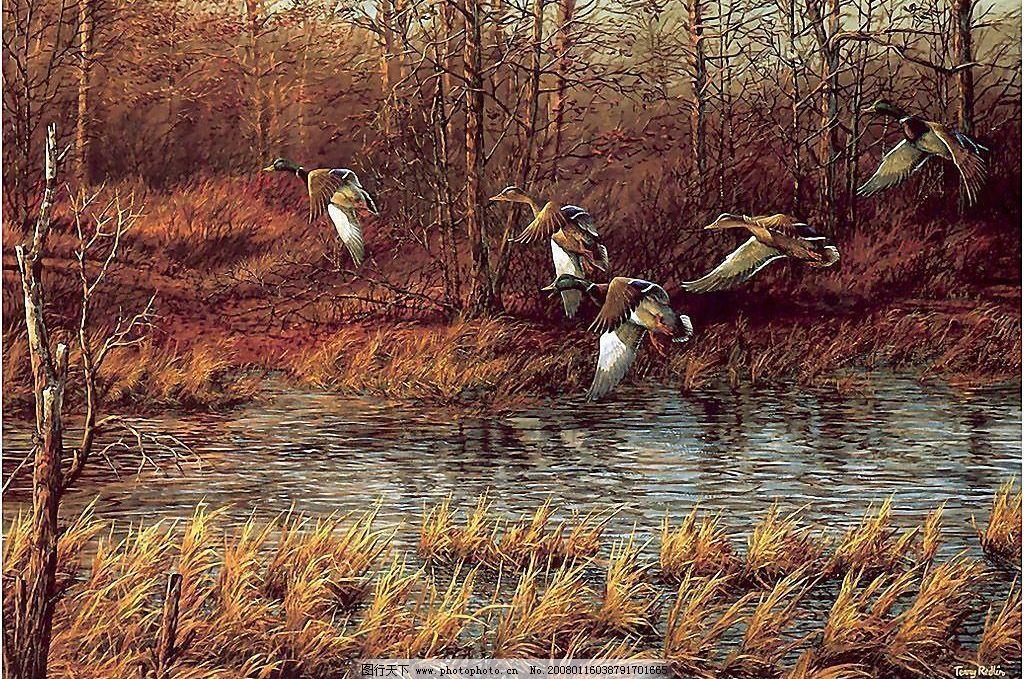 胡安米罗风景油画7图片
