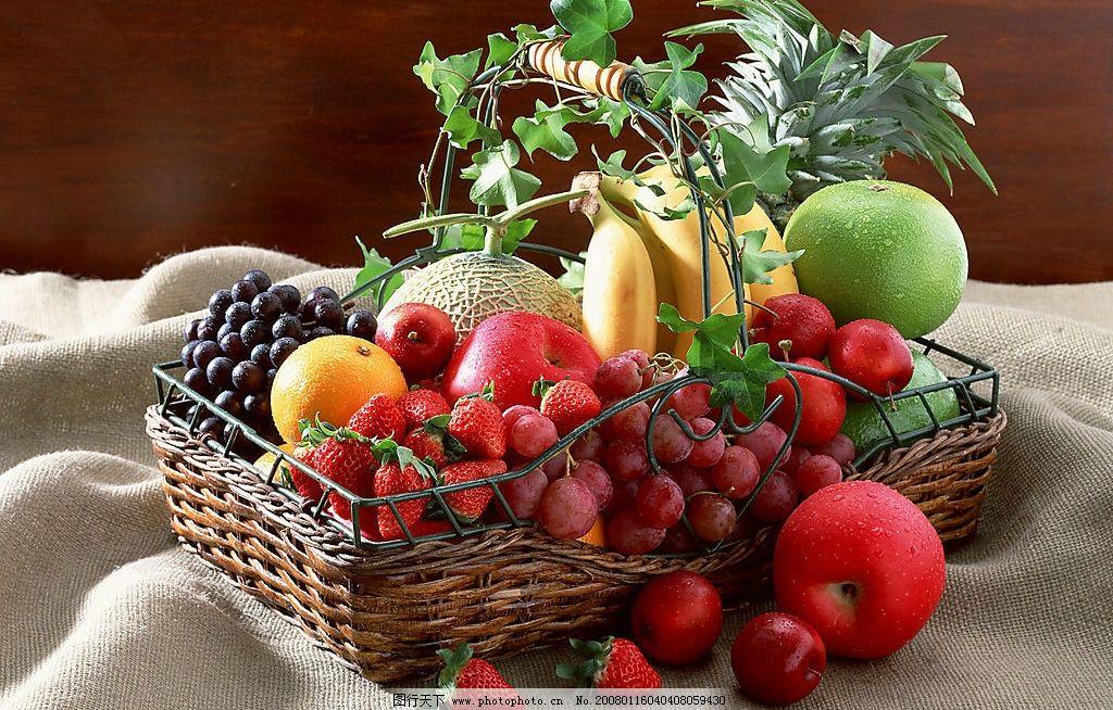 水果 水果礼盒季节美味新鲜 餐饮美食 食物原料 摄影图库