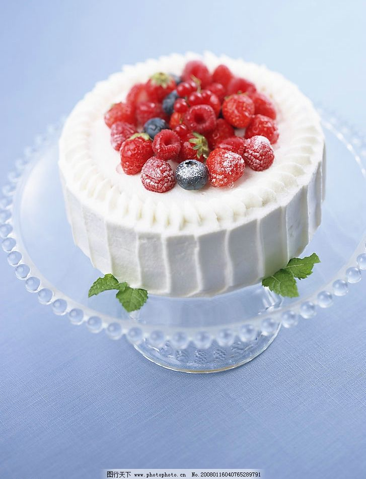 纯奶油蛋糕_奶油蛋糕图片