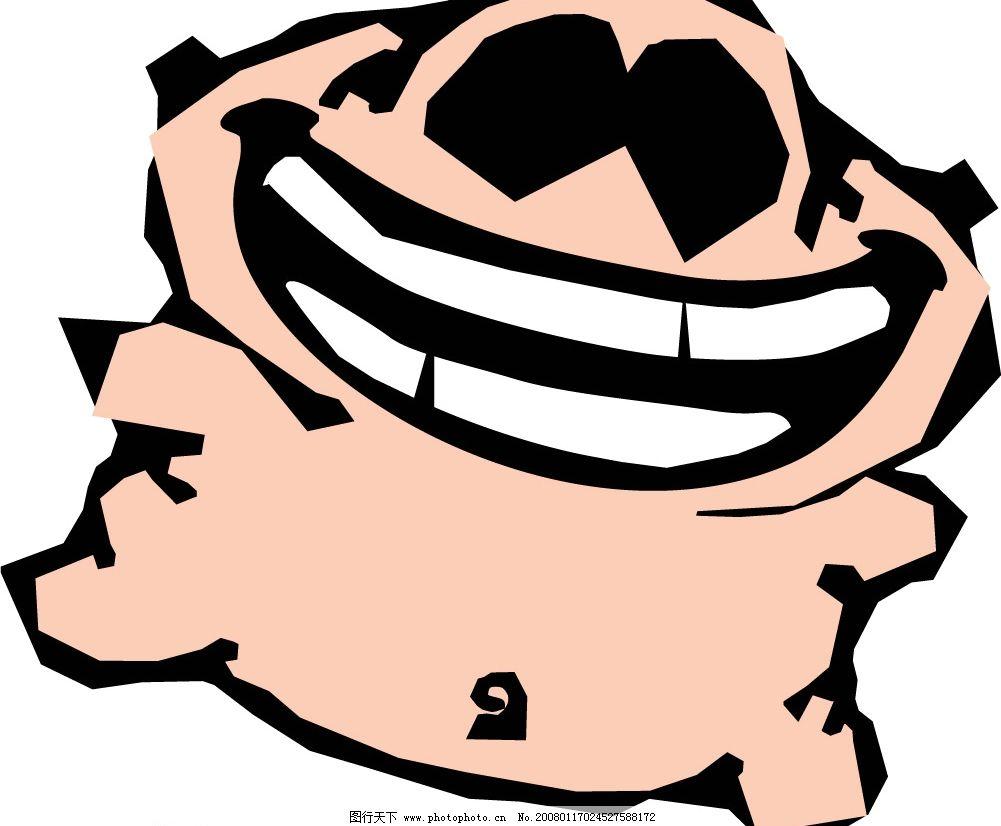pop插图122 卡通 猪 生物世界 家禽家畜 矢量图库   cdr