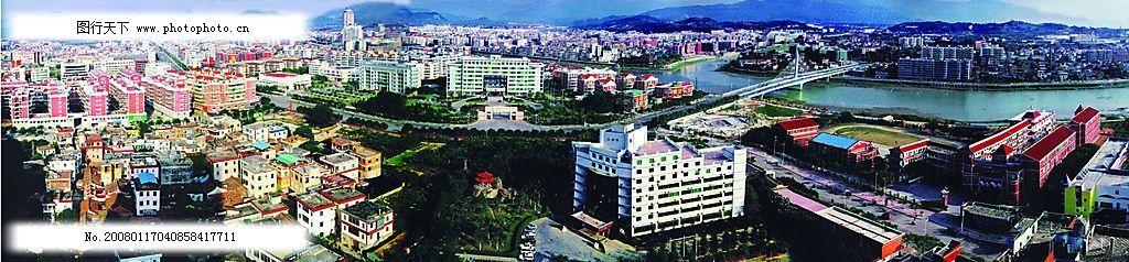 福建省厦门市同安区全景图图片