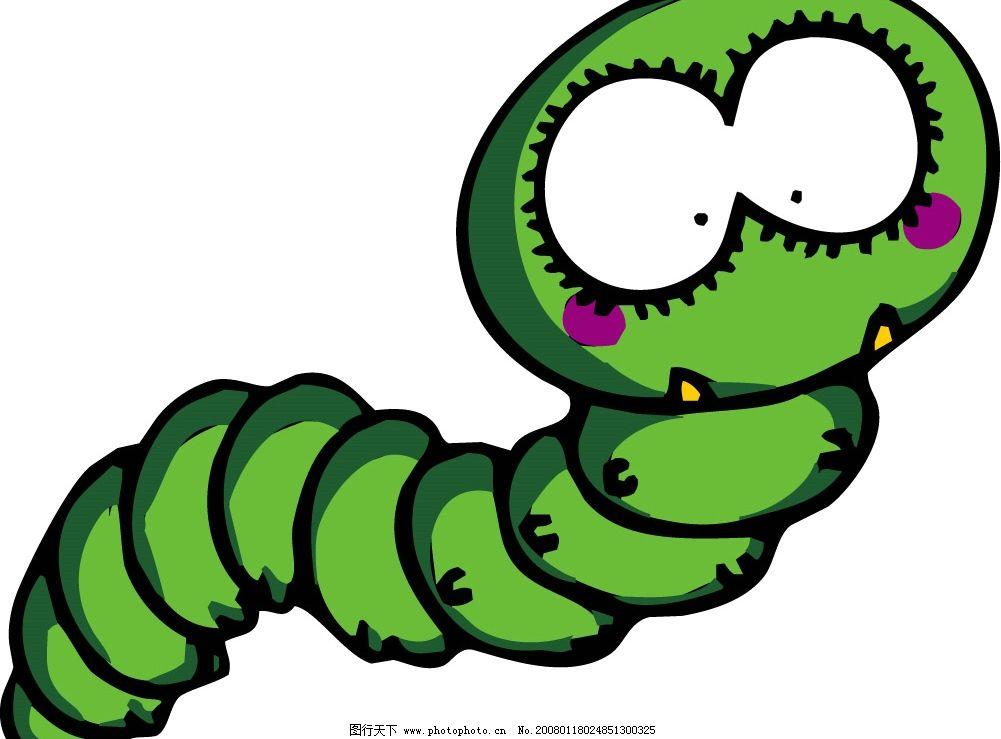 pop插图144 卡通 虫子 生物世界 昆虫 矢量图库   cdr
