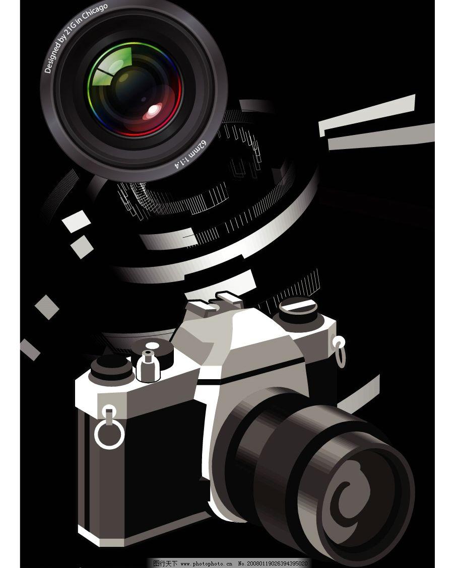 照相机 黑白的摄影 虽然单调 却可以在另一面寻找各种各样的感觉 生活