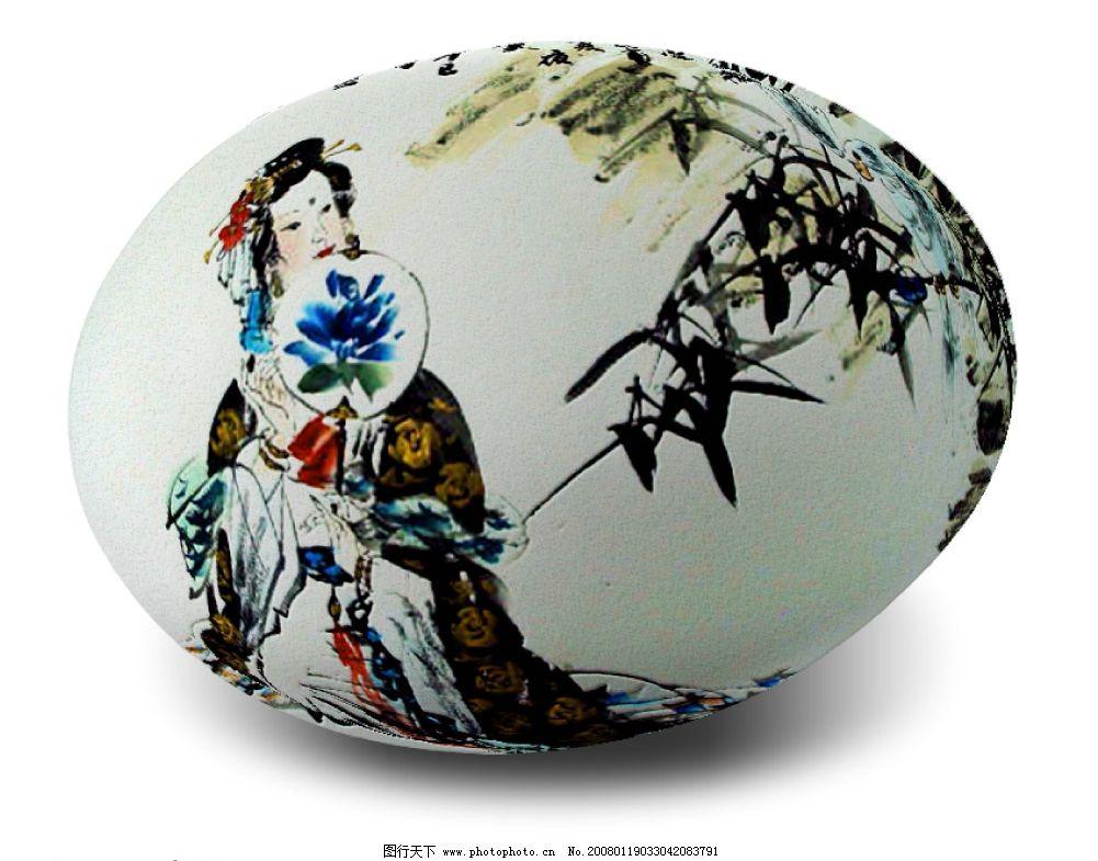 陶瓷设计创意画手绘