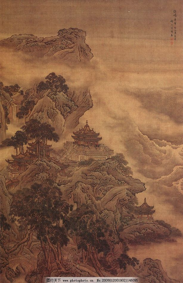古画 其他 图片素材 中国传世名画