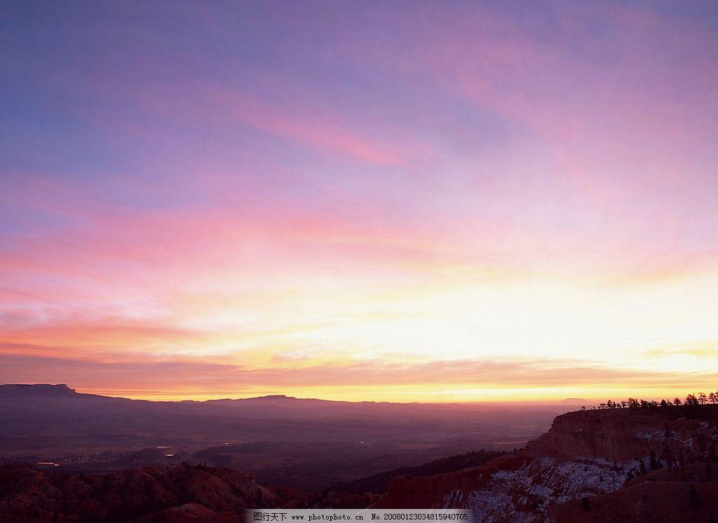 唯美天空 天空 晚霞 背景 自然景观 自然风景 摄影图库 350 jpg