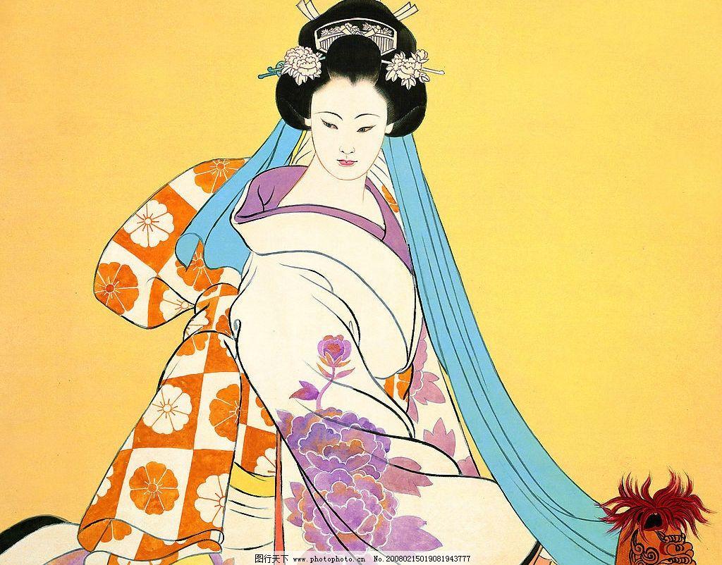 日本浮世绘 日本浮世绘2 文化艺术 绘画书法 设计图库 72 jpg