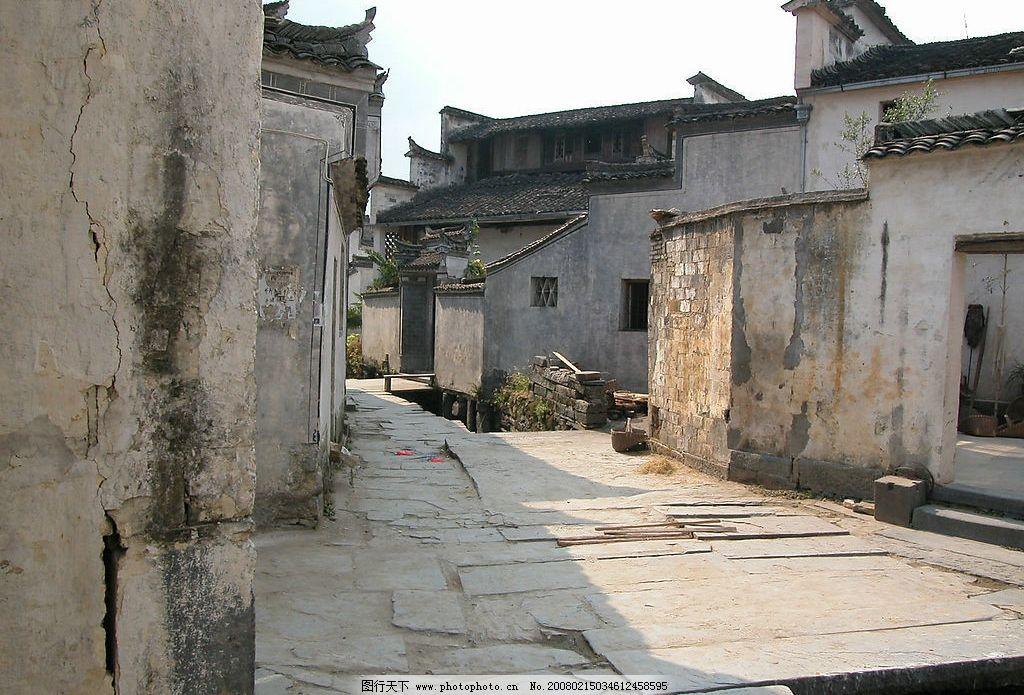 皖南风光 老房子 明清建筑 古代建筑 自然景观 风景名胜 摄影图库 300