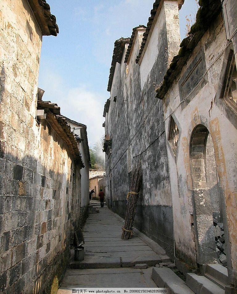 皖南风光 老房子 明清建筑 古代建筑 自然景观 风景名胜 摄影图库 30