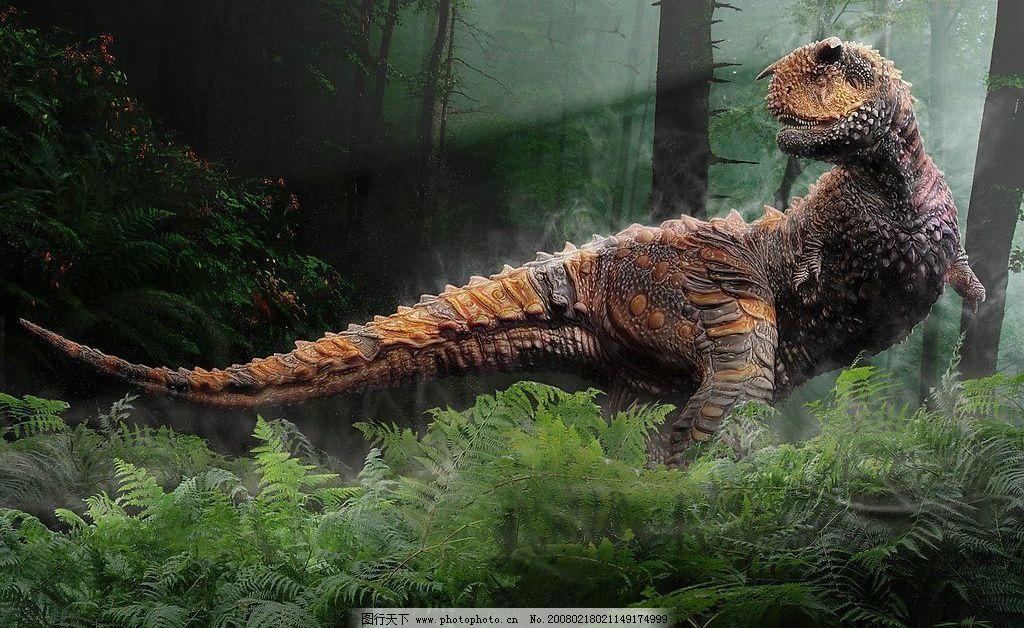 高清晰国外大师制作的恐龙图片