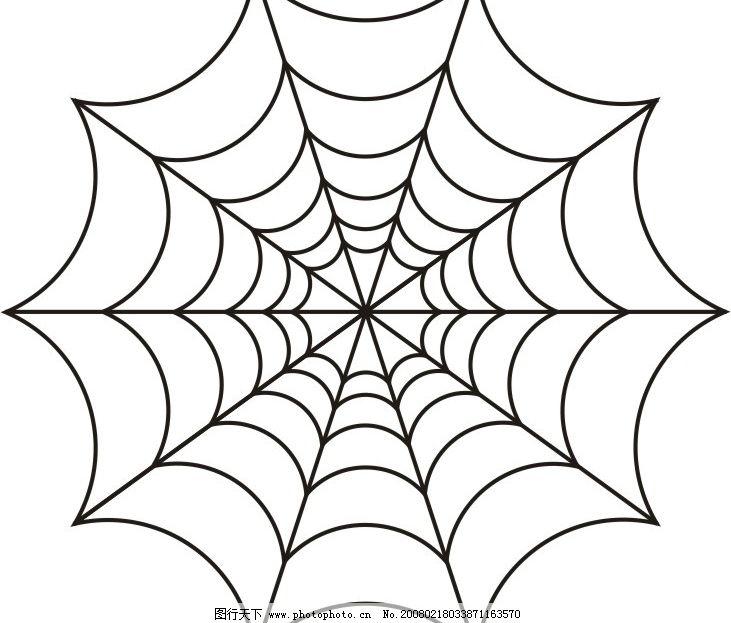可爱的小蜘蛛简笔画