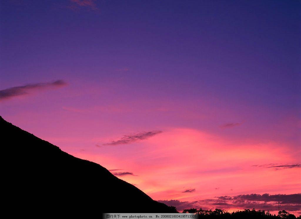 高精度彩霞晚霞图片素材 晚霞 风光 jpg 大自然 风景 背景 色调 自然