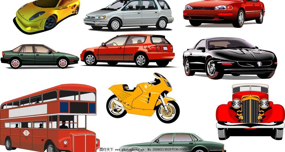 几款汽车矢量图cdr图片