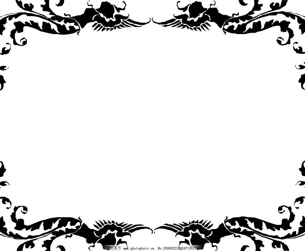 边框 矢量 古朴 其他矢量 矢量素材 矢量边框 矢量图库 底纹边框