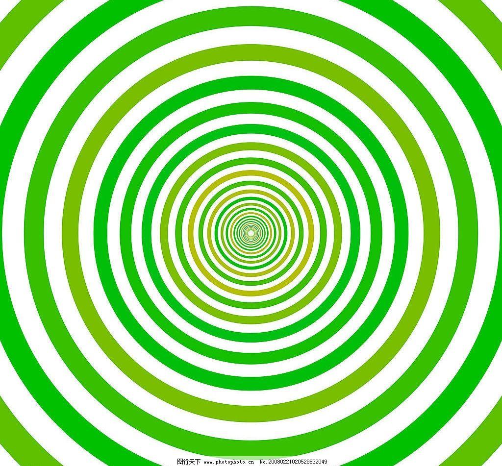 同心圆底纹 同心圆 黄绿色调 底纹边框 条纹线条 底纹 设计图库 72