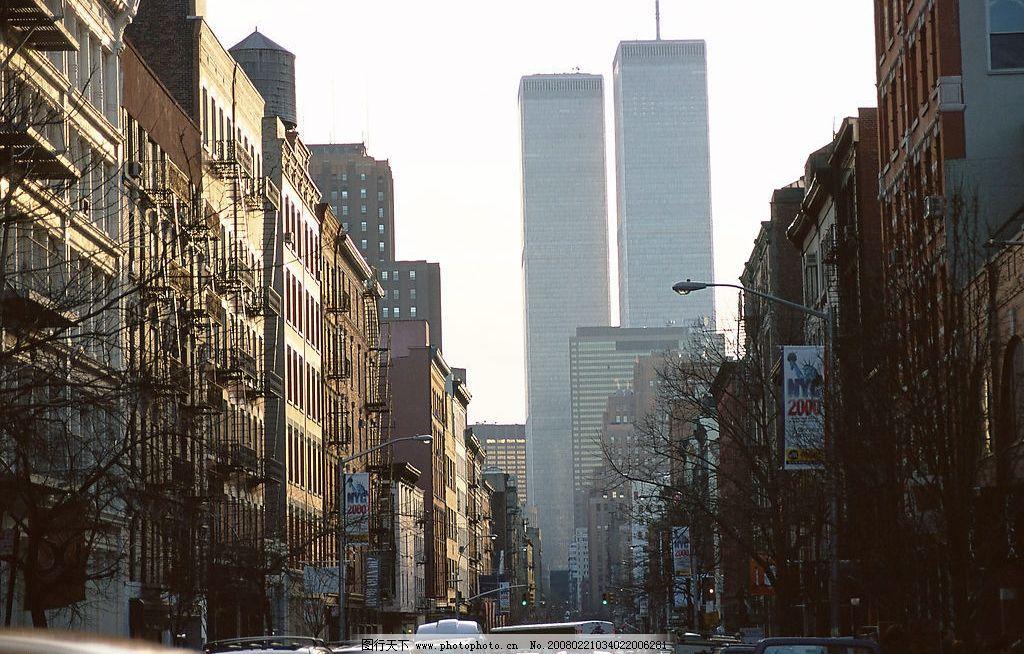 美国城市街景—曼哈顿图片