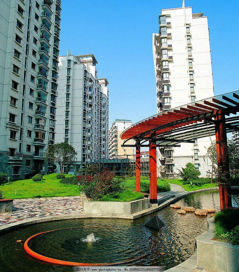上海新小区风景