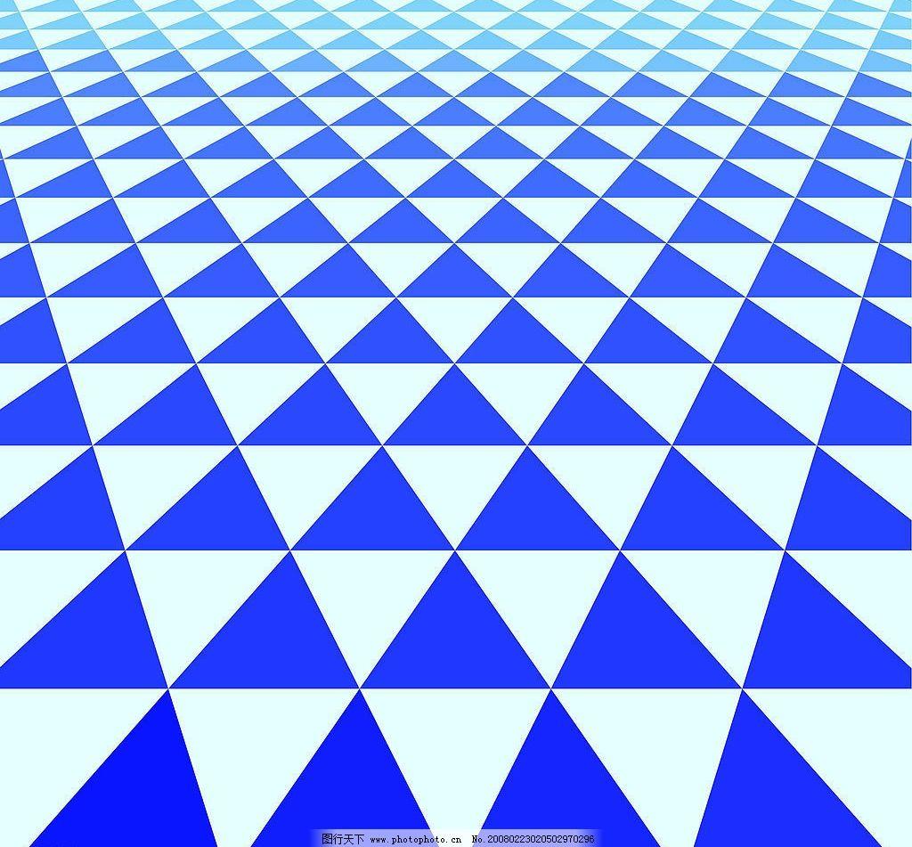 三角形底纹铺 蓝色调 三角形 平铺 底纹边框 条纹线条 底纹 设计图库