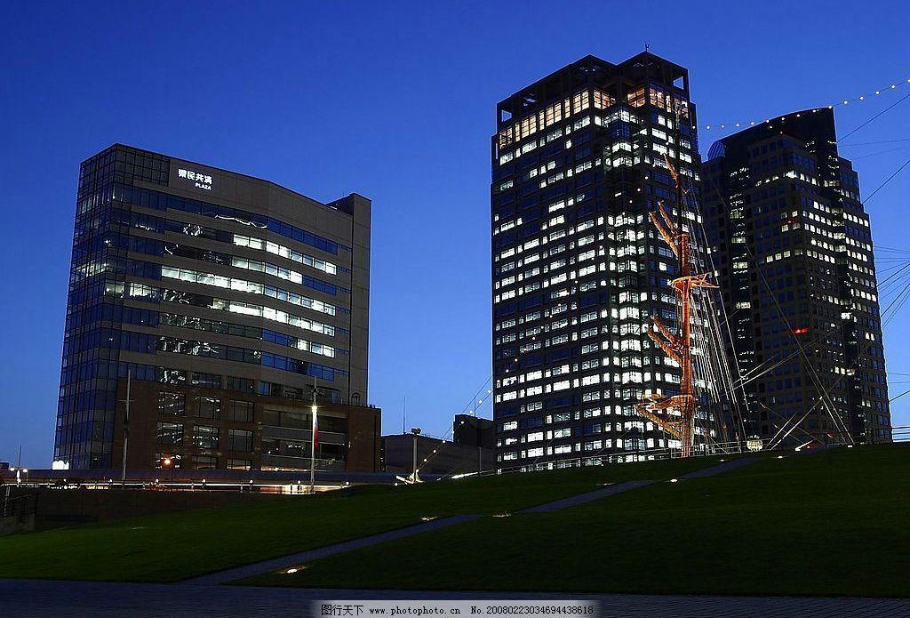 都市雄姿 高樓 大廈 街景 夜空 燈光 自然景觀 風景名勝 都市夜景
