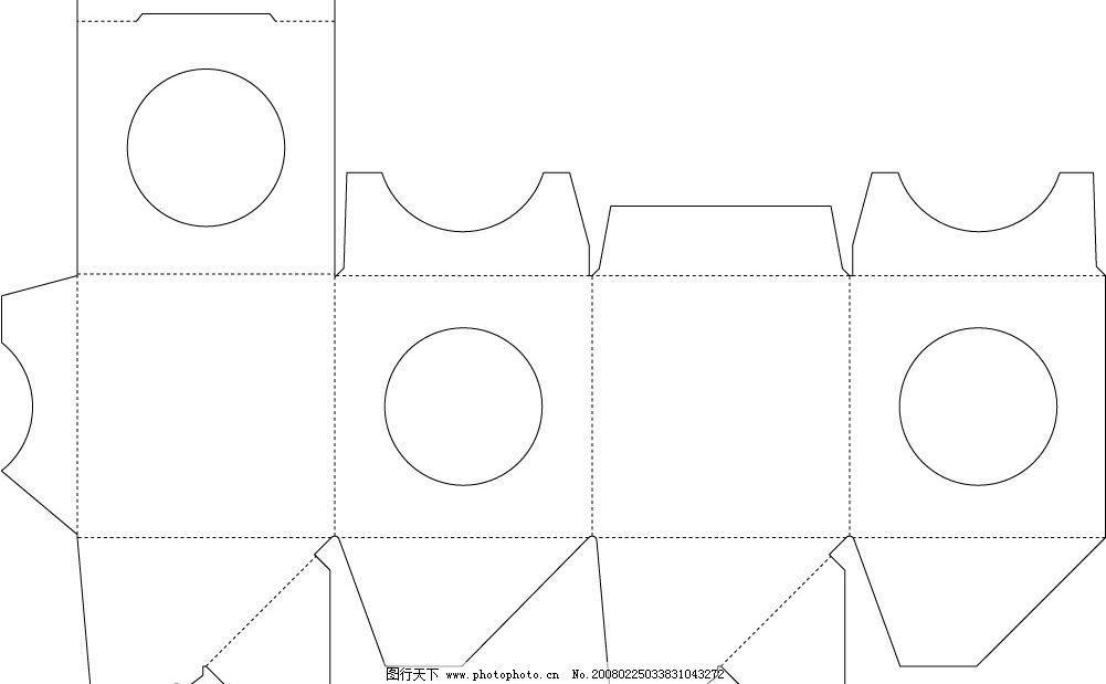 包装展开矢量图1 包 装 展 开 矢 量    其他矢量 矢量素材 矢量图库