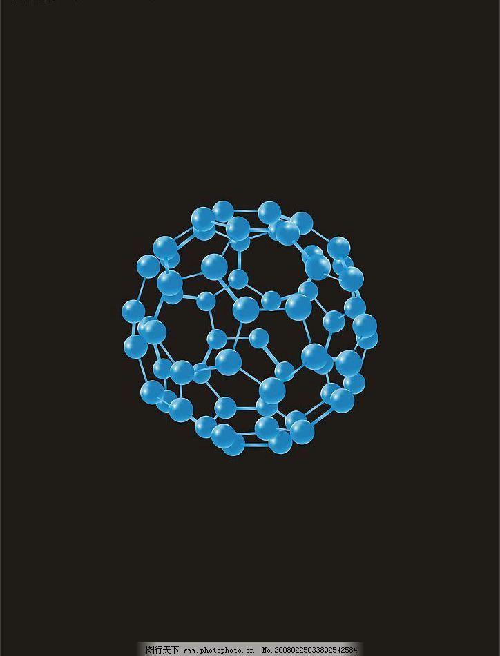 水分子结构图ai图片