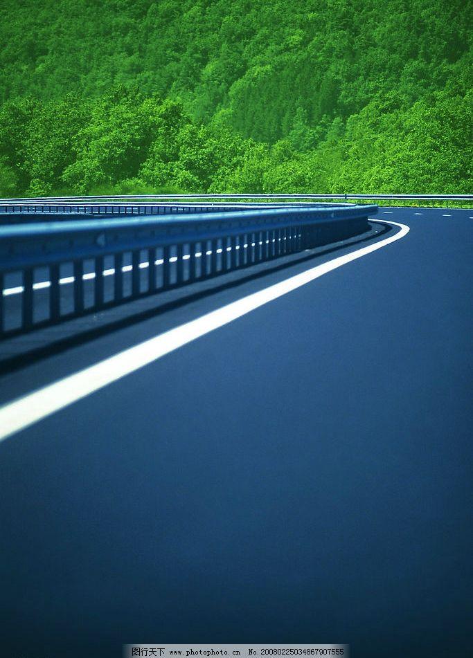 通天大道 绿荫 高速路 自然景观 自然风景 摄影图库 72 jpg
