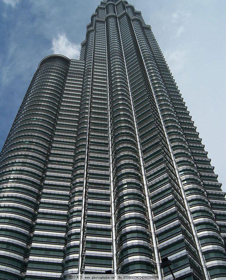 吉隆坡双星塔 马来西亚 吉隆坡 双星塔 旅游摄影 国外旅游 东南亚风情