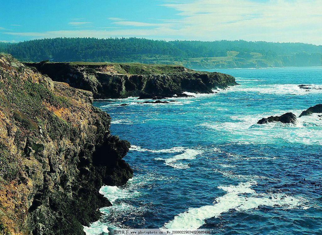 海洋风景 海浪 礁石 自然景观 自然风景 摄影图库