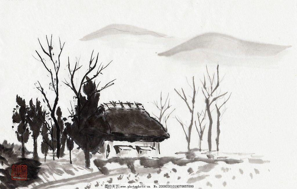 古代风景绘画图片
